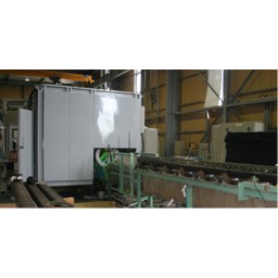 Автоматическая линия магнитопорошковой дефектоскопии Super-Line Magna