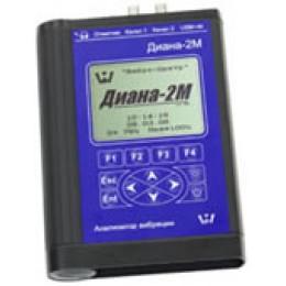 Двухканальный анализатор вибросигналов ДИАНА-2М