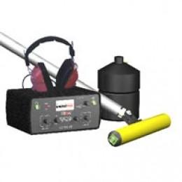 Течеискатель с функцией пассивного обнаружения кабеля