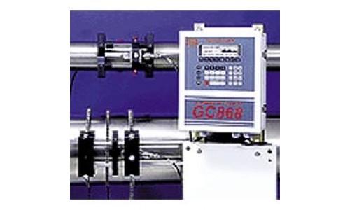 Бесконтактный ультразвуковой расходомер газов с накладными датчиками - GC 868