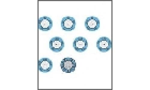 Круглые индикаторы testoterm, от +143 до 166 °C