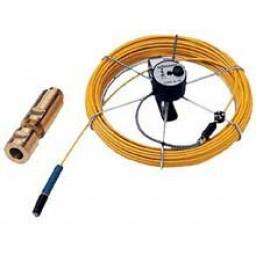 Glasfaserortungskabel mit akustischem Molch