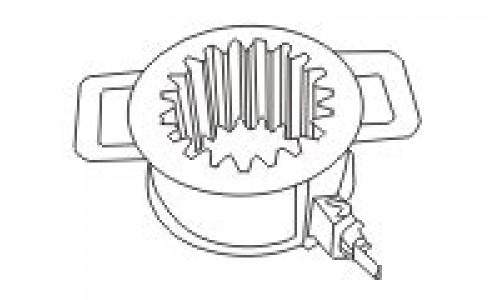 Устройство для магнитного дефектоскопирования шестерен УМДЗ