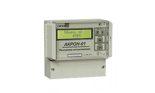 Ультразвуковой стационарный расходомер с накладными датчиками АКРОН-01