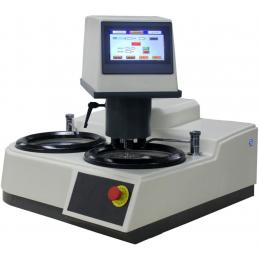 Автоматический шлифовально-полировальный станок с сенсорным управлением для подготовки металлографических шлифов MODUL MP-2000