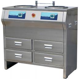Шлифовально-полировальный станок для подготовки металлографических шлифов MODUL MP-2BC из нержавеющей стали