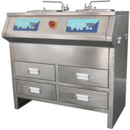 Шлифовально-полировальный станок для подготовки металлографических шлифов MODUL MP-2SC (в корпусе из нержавеющей стали)