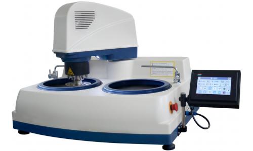 Автоматический шлифовально-полировальный станок с сенсорным управлением для подготовки металлографических шлифов MODUL MP-2SZT