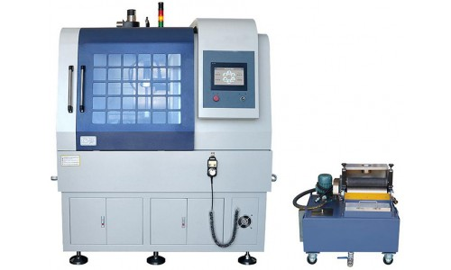 Автоматический станок с сенсорным управлением для вырезания металлографических шлифов MODUL QG-120FZ