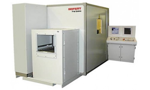 Рентгенотелевизионная система контроля качества литых дисков колес SEIFERT DP500/500XL