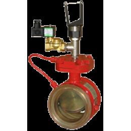 Клапаны запорно-пусковые дренчерные КД-100, КД-150