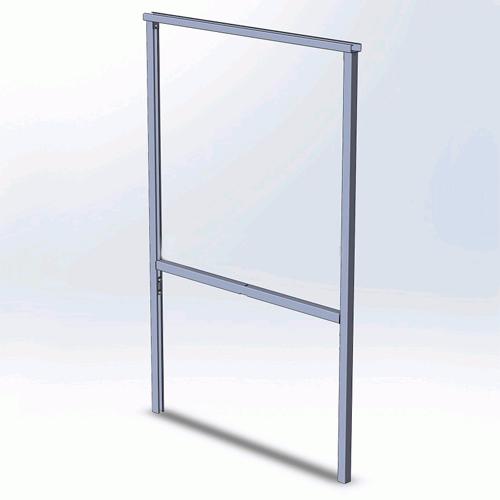 Рама задняя высокая С6 Белтема